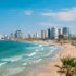 Views of the waterfront and beaches of Tel Aviv