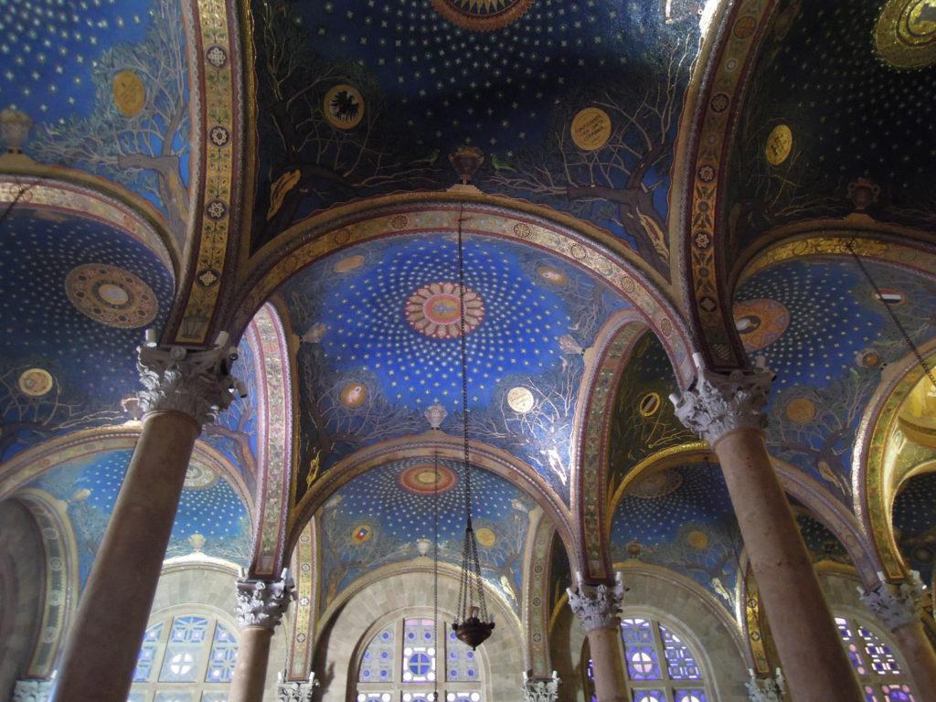 Kyrkan i Getsemane, interiör